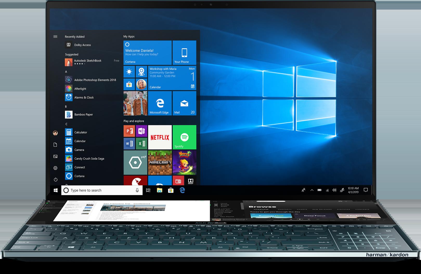 ASUS Zenbook Pro Duo UX581GV-XB94T Laptop