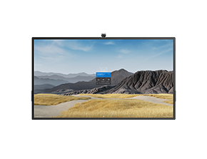 illustrasjon av Surface Hub 2S