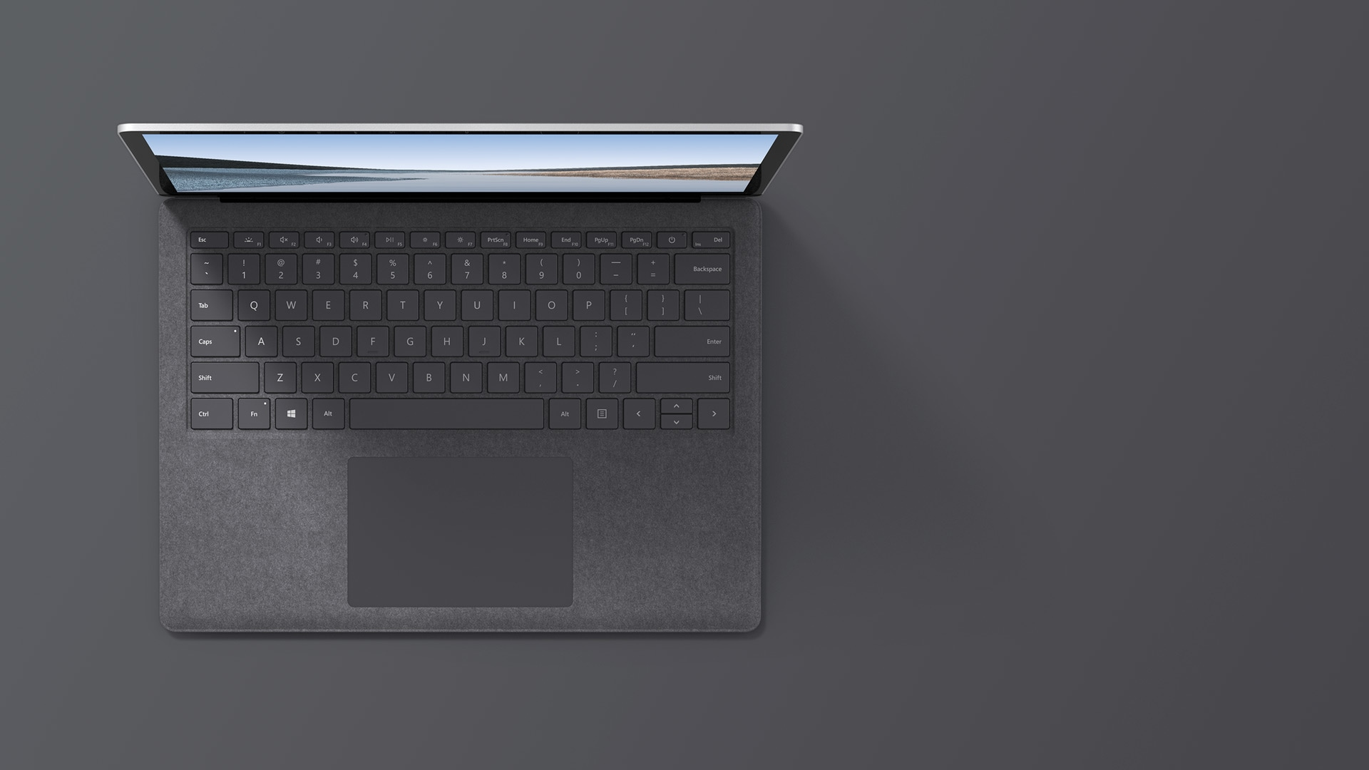 "13.5"" Surface Laptop 3 in Platinum with Alcantara® material"