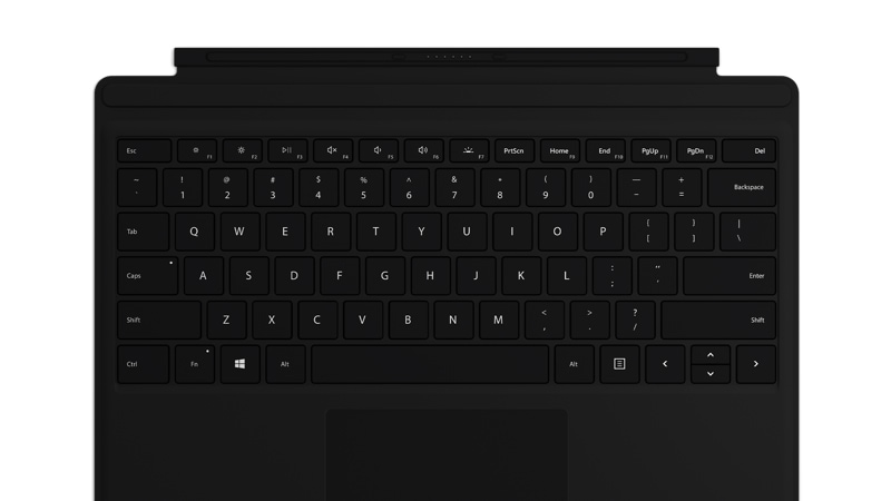 Surface Pro Type Cover in Black