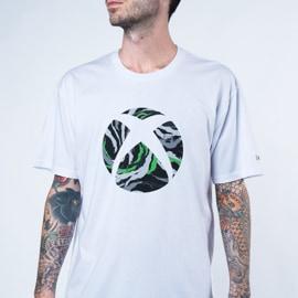T-shirt Sphère Xbox blanc