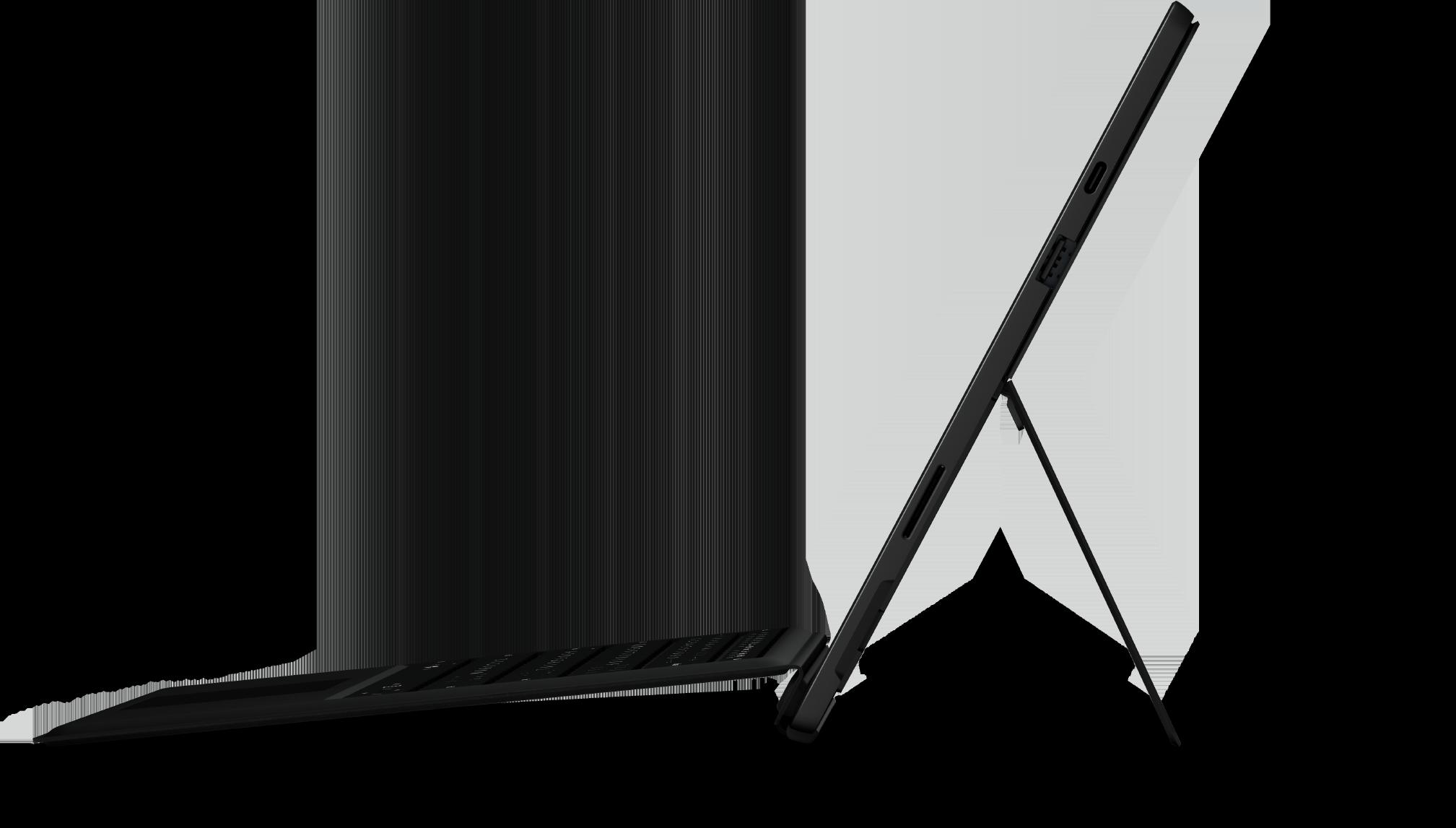 Black Surface Pro 7 + Black Pro Type Cover Bundle (10th Gen Intel Core i5)