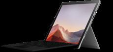Platinum Surface Pro 7 + Black Pro Type Cover Bundle (10th Gen Intel Core i3)