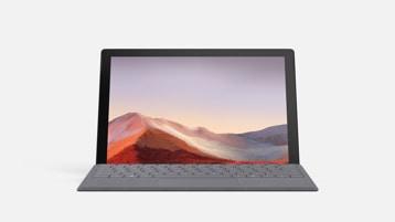 Surface Pro 7 con cover con tasti