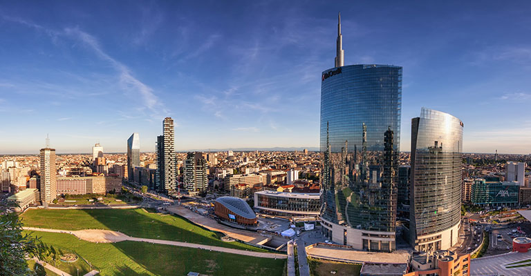 City Scape of Milan
