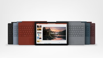 Surface Pro 7 and Type Covers
