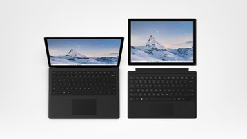 Surface Pro 6 and Surface Laptop 2