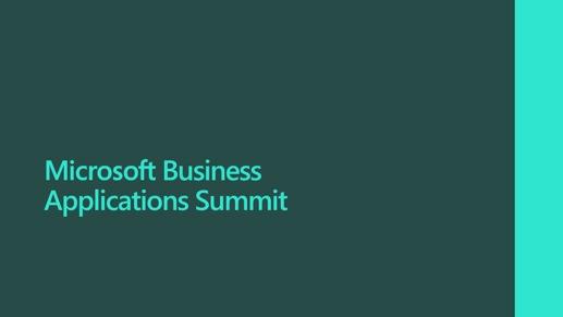 Microsoft Business Applications Summit logo