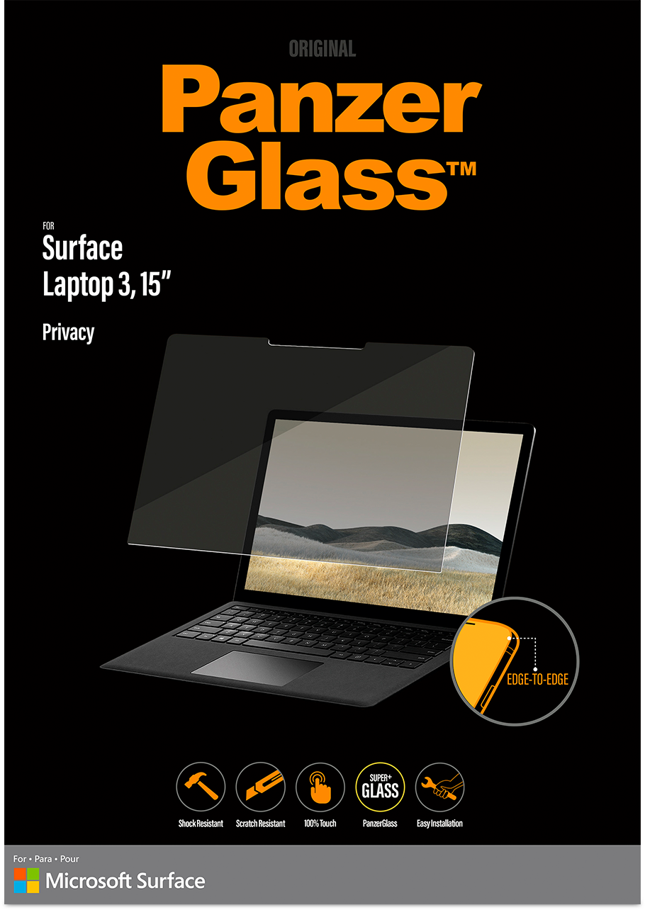 RE471Mv?ver=52c5 - PanzerGlass 15'' Privacy Screen for Surface Laptop 3