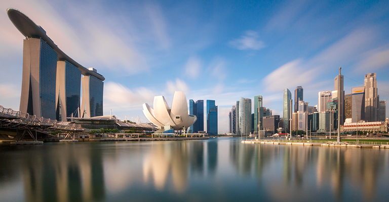 City scape of Singapore