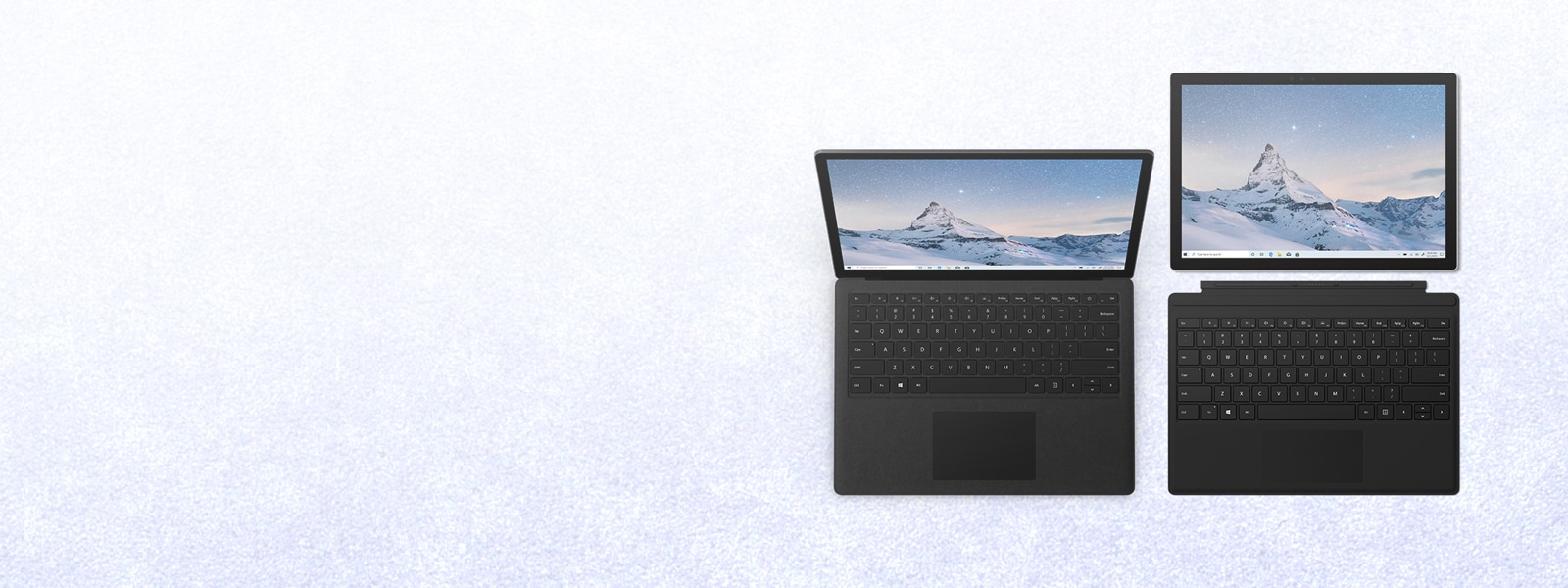 SurfacePro6 and SurfaceLaptop2