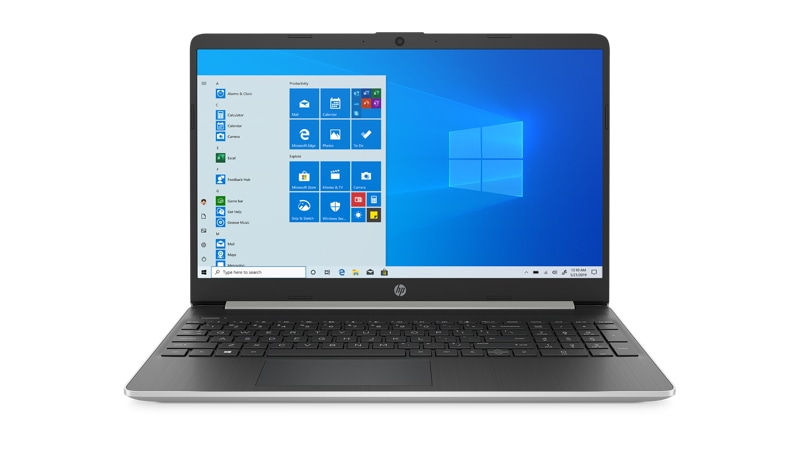 Front view of HP Laptop 15 ef0875ms