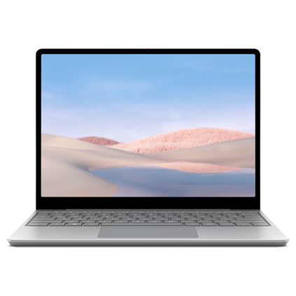 Surface Laptop Go - Platynowy, Intel Core i5, 4 GB, 64 GB