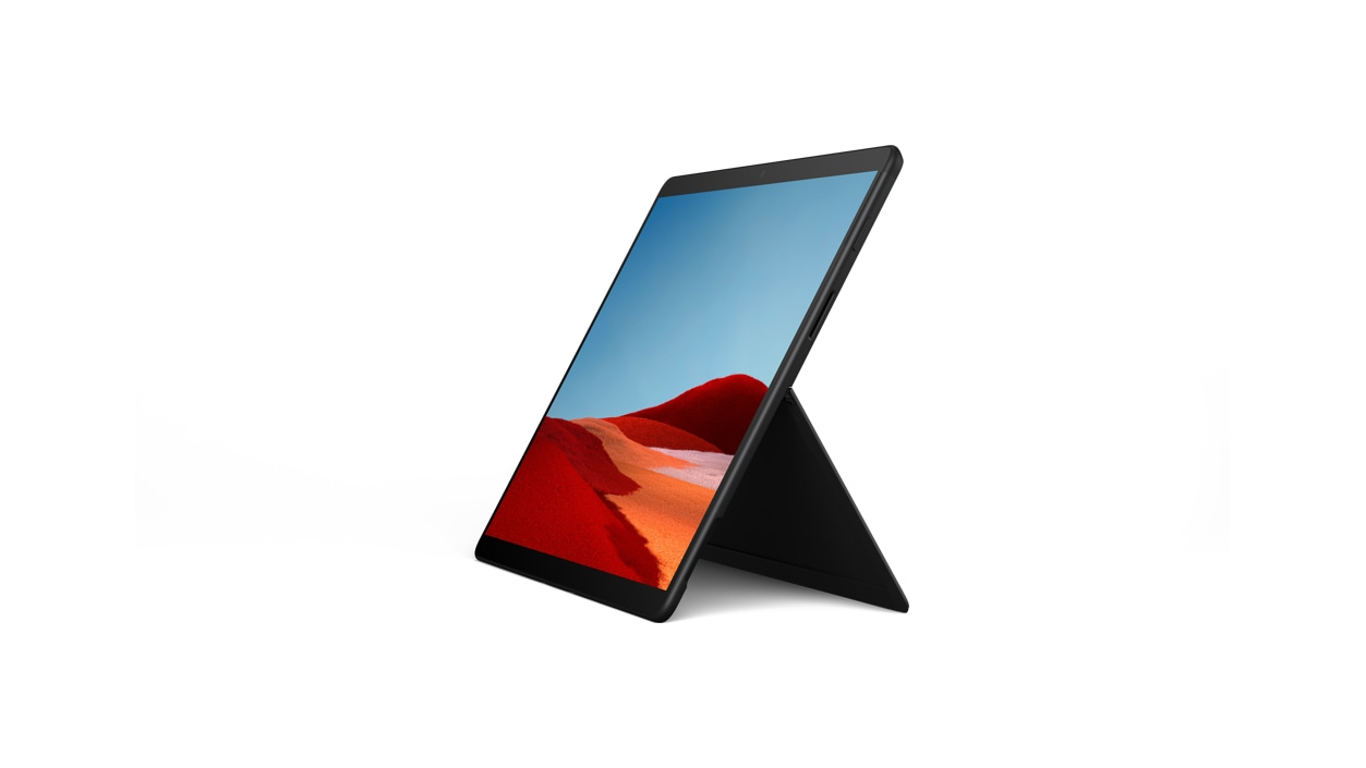 Surface Pro X in black
