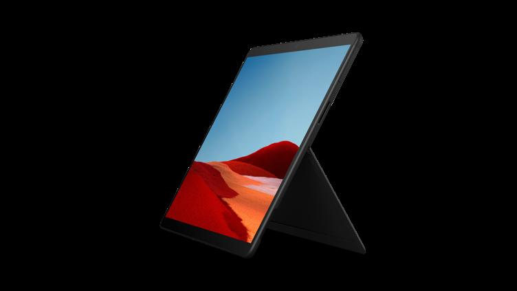 Surface Pro X en noir
