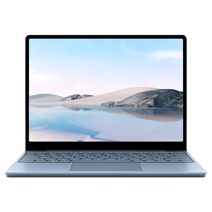 Surface Laptop Go - Ice Blue, Intel Core i5, 8GB, 128GB Make the most of every day with the sleek style, performance and all-day battery life¹ you need in our lightest Surface Laptop, all at exceptional value.