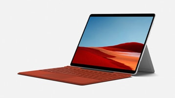 Surface Pro X مع لوحة مفاتيح Surface Pro X Signature Keyboard