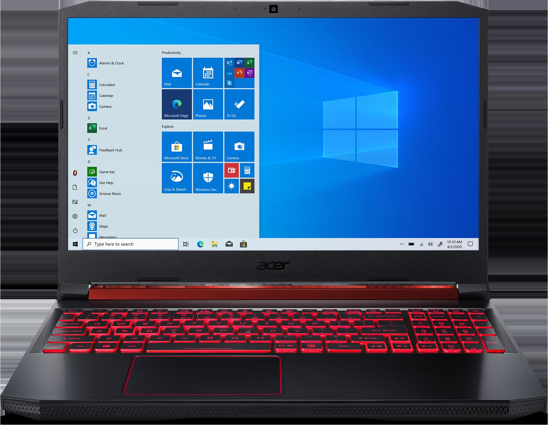 Acer Nitro 5 AN515-54-70KK Gaming Laptop 15.6-inch Full HD display Intel Core i7-9750H 16GB memory/512GB SSD NVIDIA GeForce RTX 2060