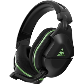 Left side angle view of Turtle Beach® Stealth™ 600 Gen 2 Wireless Gaming Headset in black