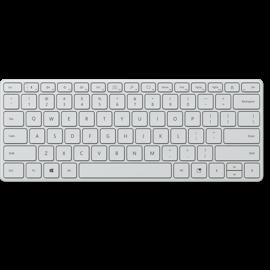 Microsoft Designer Compact Keyboard (モンツァ グレー)。