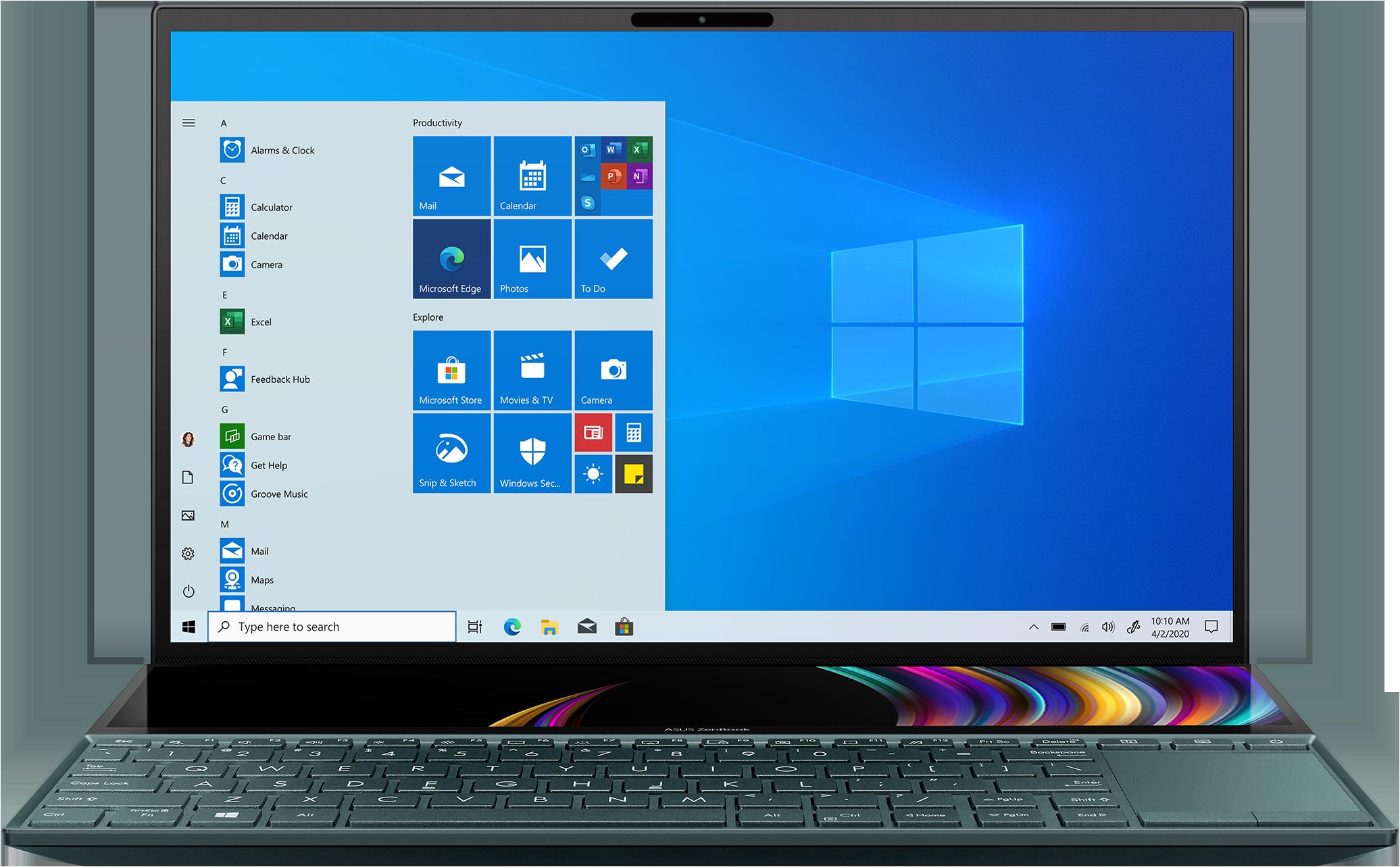 Image of ASUS ZenBook Duo 14 UX481 Laptop VMC-00140