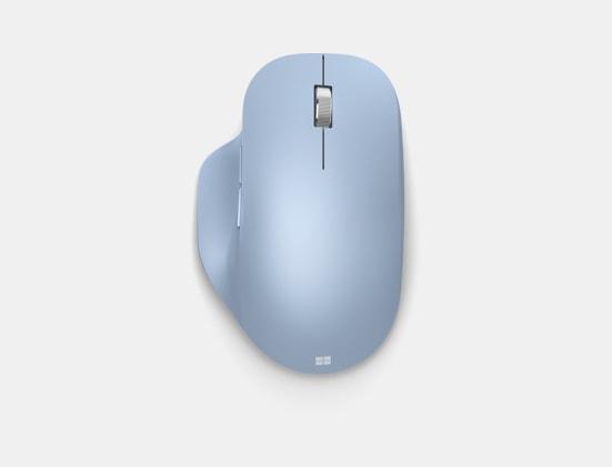 Pastel Blue Microsoft Bluetooth® Ergonomic Mouse