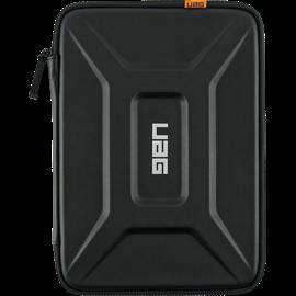 """Housse moyenne pour ordinateur portable UAG noire 13"""" depuis l'avant"""