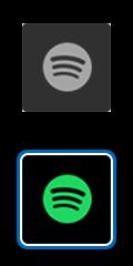 錄製應用程式標誌