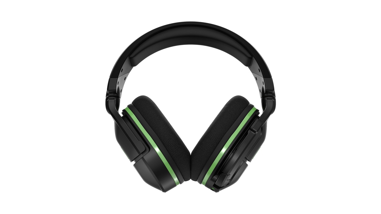Front view of Turtle Beach® Stealth™ 600 Gen 2 Wireless Gaming Headset in black