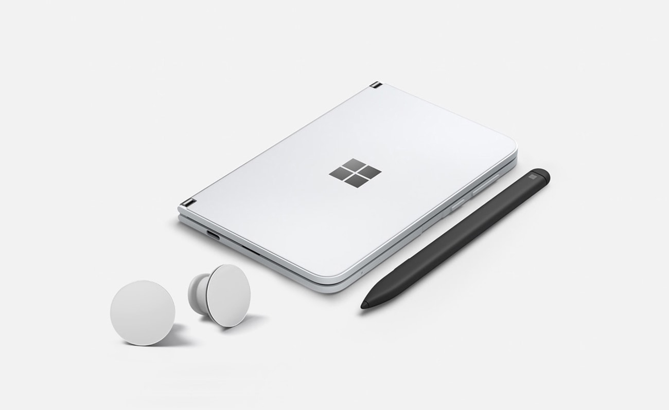 Surface Duo, Surface Earbuds und Surface Slim Pen