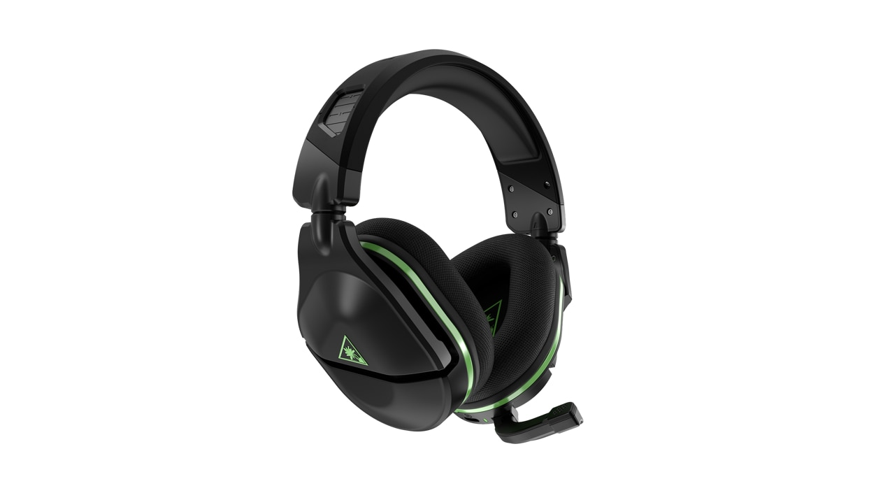 Right side angle view of Turtle Beach® Stealth™ 600 Gen 2 Wireless Gaming Headset in black