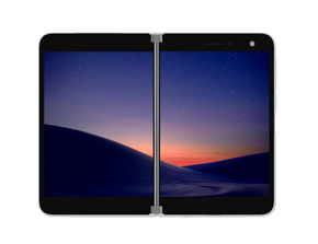 Surface Duo im Dual-Screen-Hochformat