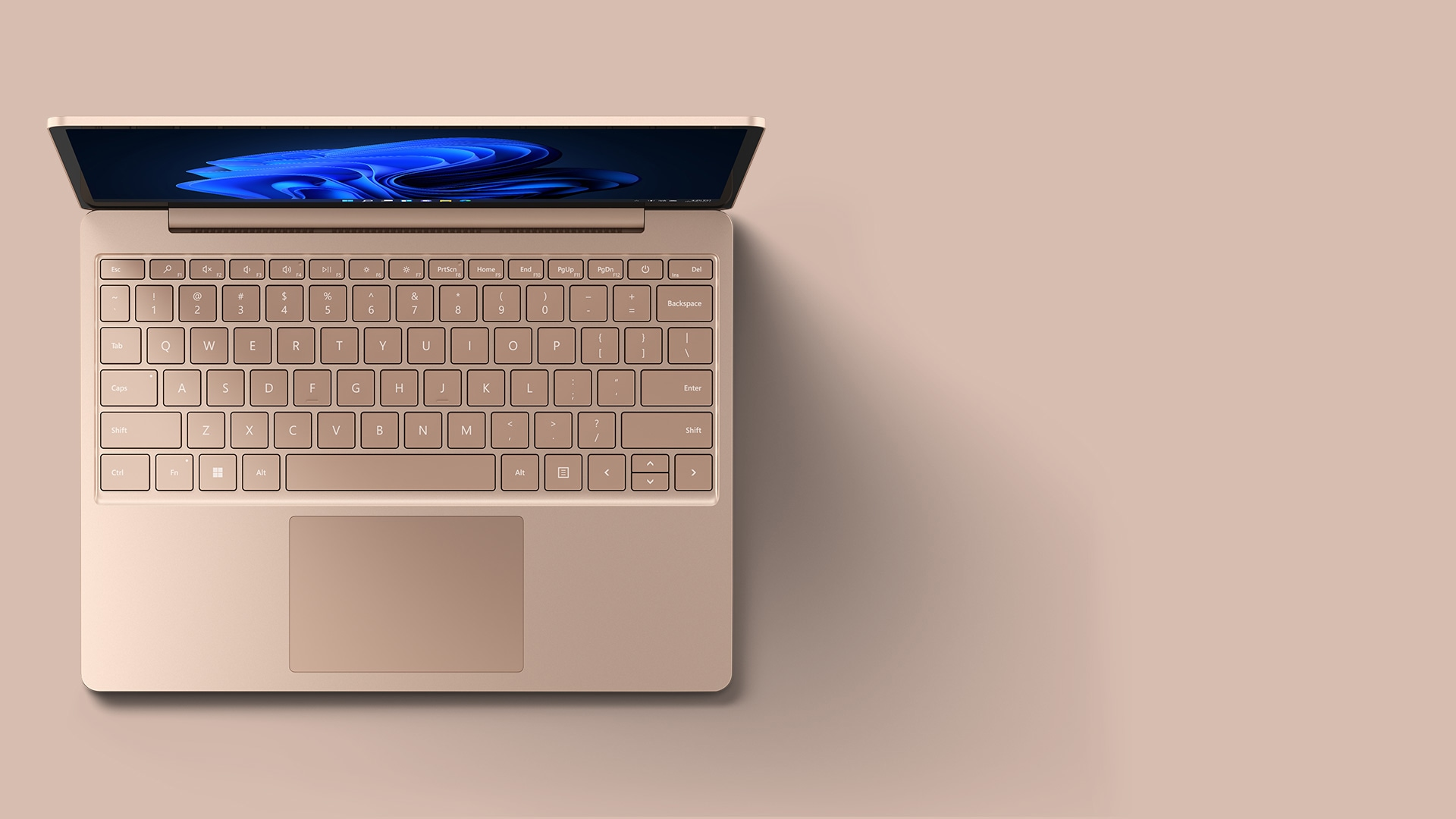 Surface Laptop Go in Sandstone