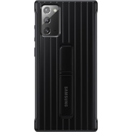 Rear view of Samsung Galaxy Note20 5G Rugged Cover in Black
