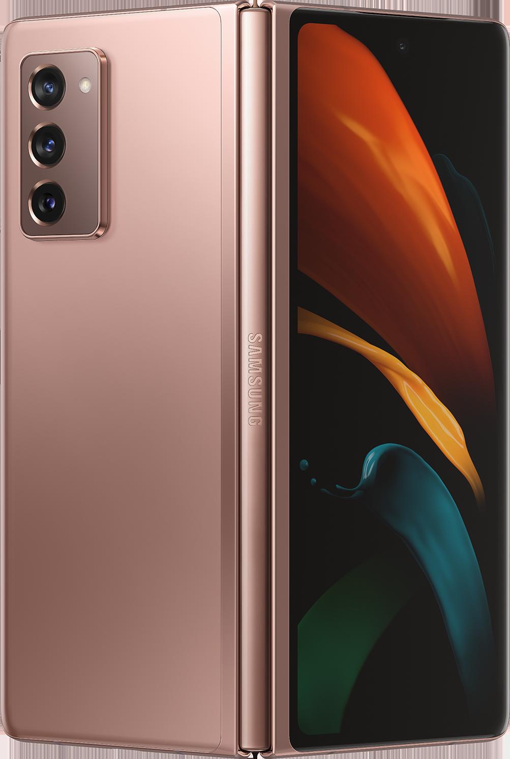 Samsung Galaxy Z Fold2 5G (Unlocked) - Mystic Bronze