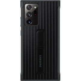 Samsung Galaxy Note20 Ultra 5G Rugged Cover Black from the back