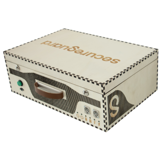 secureguard Cluster-in-a-Wooden-Box