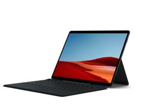 rendu de la Surface Pro X