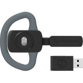 Front view of the Hyperkin X88 Wireless Legacy Headset for Xbox One/Xbox Series X/Windows 10