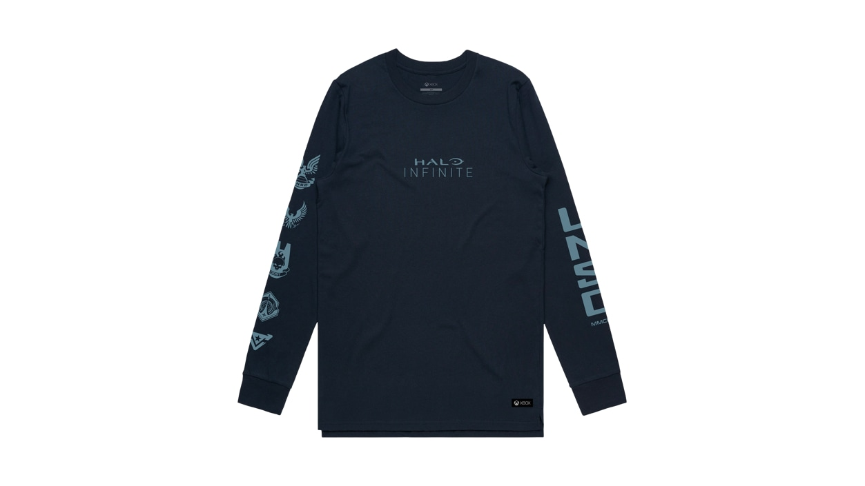 Front View of UNSC Forces Long Sleeve Tee