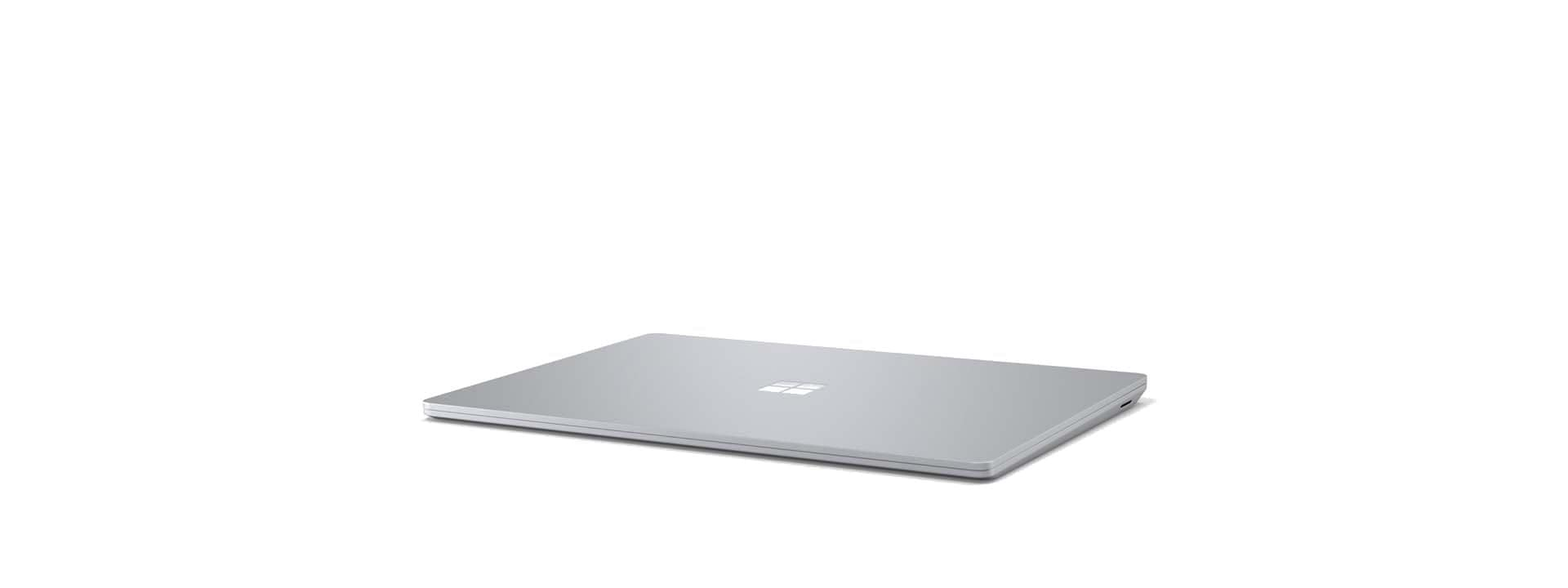 Surface Laptop 3 at an angle with screen closed