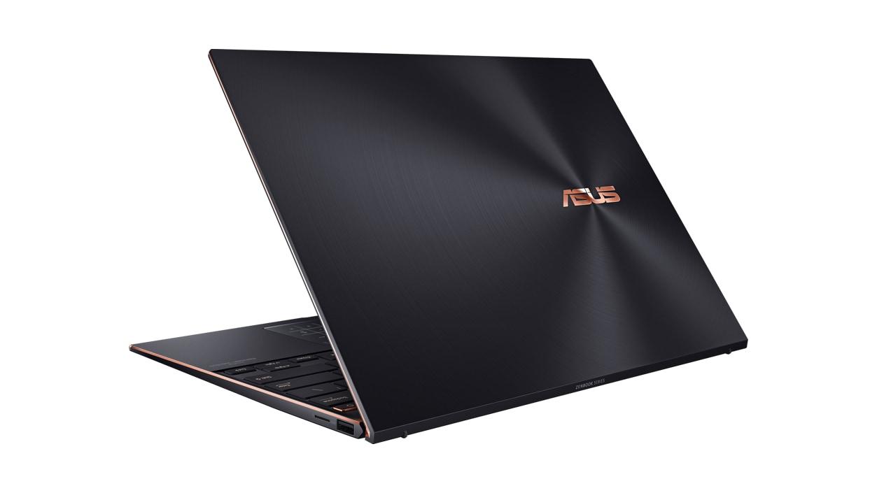 Left rear view of ASUS ZenBook.