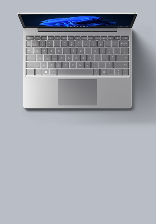 Surface Laptop Go in Platinum