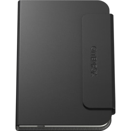 Front view of closed Otterbox Surface Duo Folio Black
