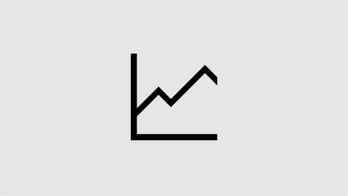 A line chart icon image.