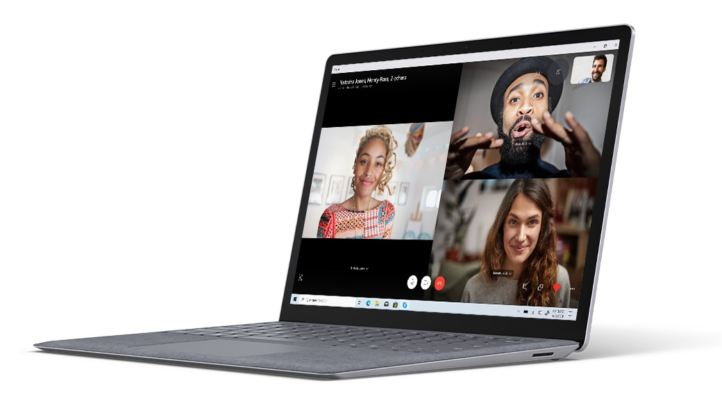 Surface Laptop 3 HD-kamera til videochat