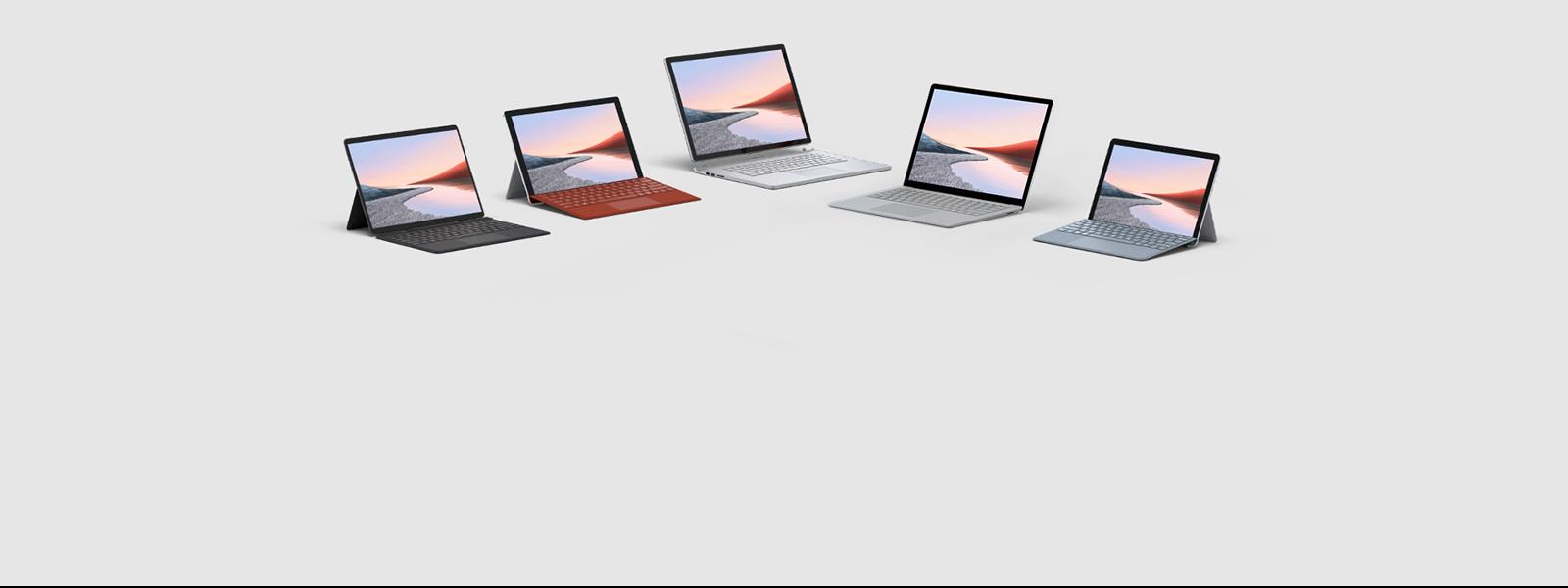 Obtenez jusqu'à 25% de réduction sur la famille Surface : Surface Pro 7, Surface Laptop Go, Surface Laptop 3, Surface Book 3 et Surface Pro X.