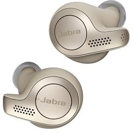 Jabra Elite 65t Wireless Earbuds in Titanium Gold/Beige