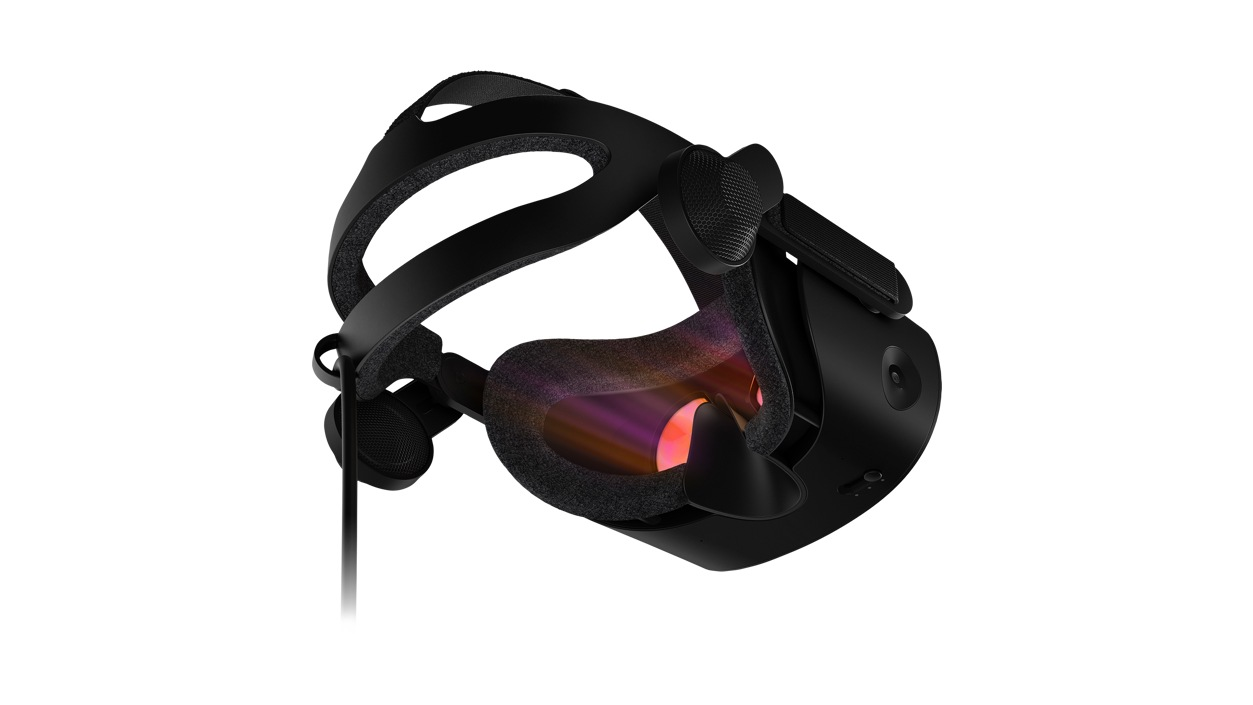Left rear view of HP Reverb G2 VR Headset