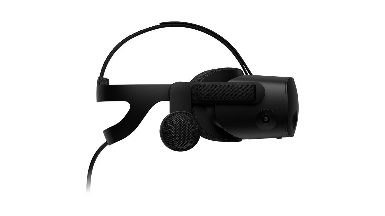 Left side view of HP Reverb G2 VR Headset